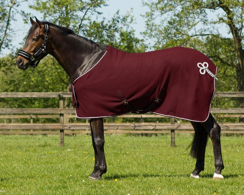 Qhp Fleece Rug Ornament Horse And