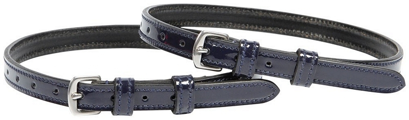 Harry's Horse Leather spur straps lacquer