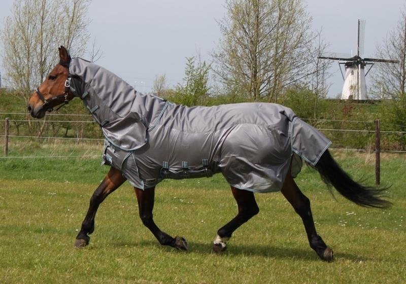 DKR Combo-rug Summer Rain with detachable neck