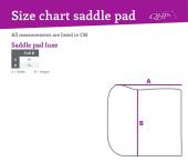 QHP Saddle Pad Luxury Friesian