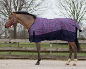 QHP Turnout rug Collection fleece lining