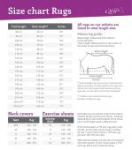 QHP Stable rug Q Friesian 250gr