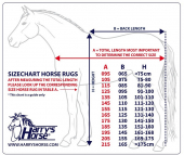 Harry's Horse Stable Rug Highliner 500