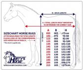 Harry's Horse Turnout rug 0gr STOUT! Blue